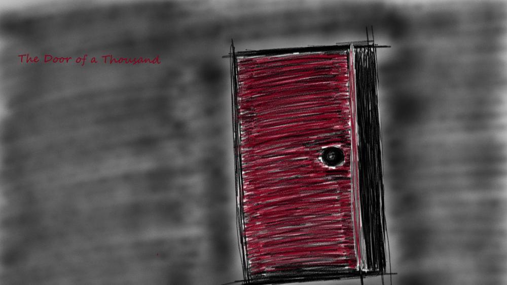 The Door of a Thousand wallpaper