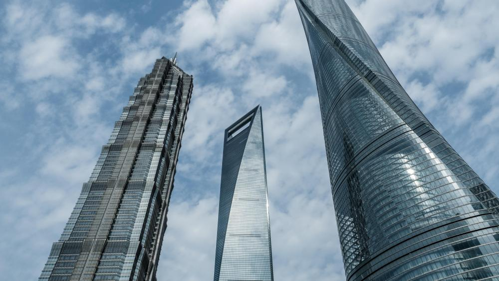 Shanghai's Tallest Skyscrapers wallpaper