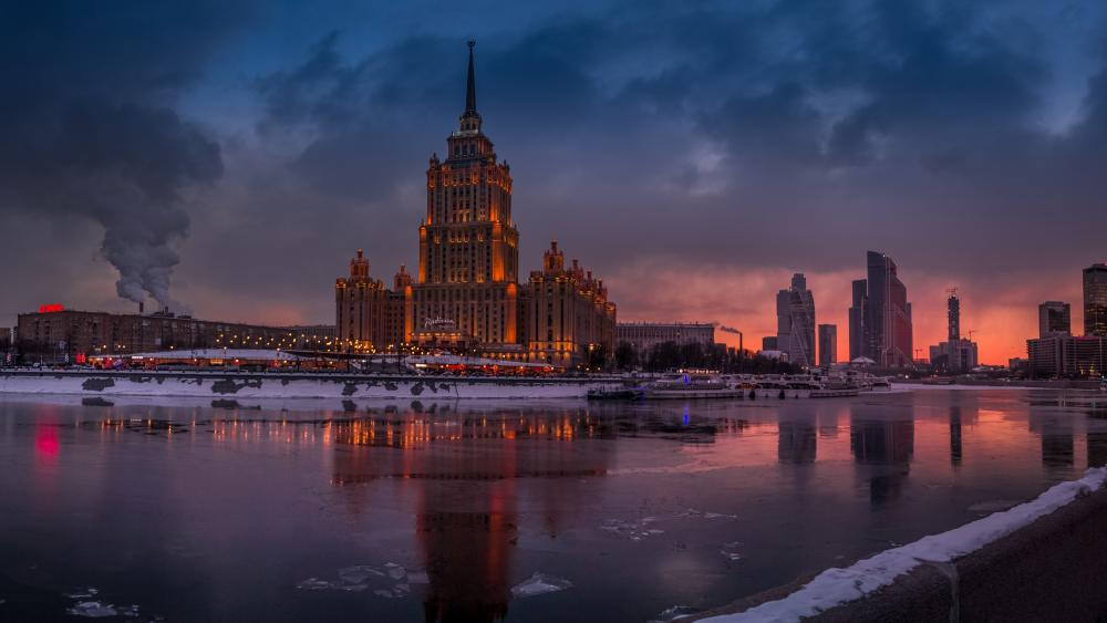 Seven Sisters (Moscow) wallpaper