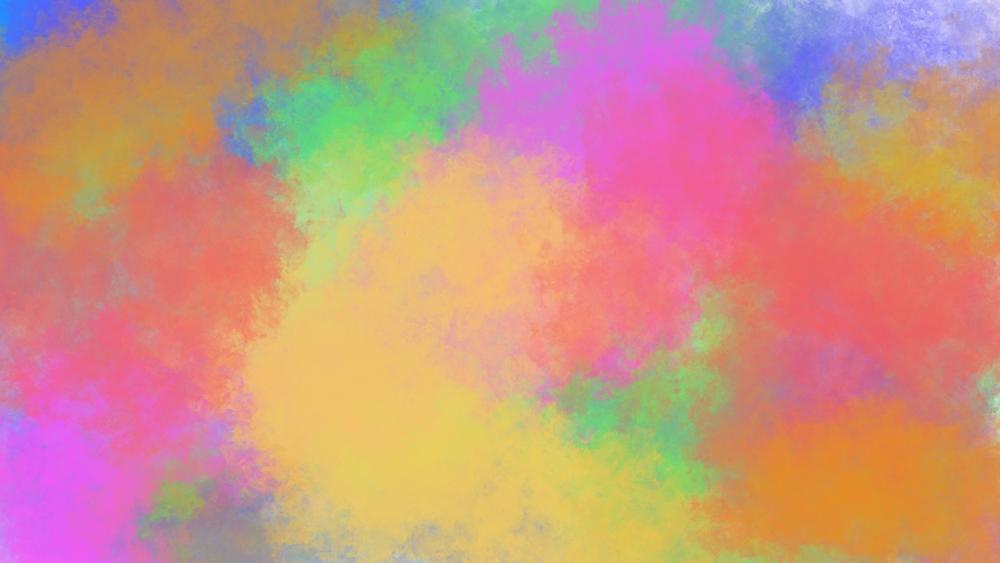 Colorful wallpaper