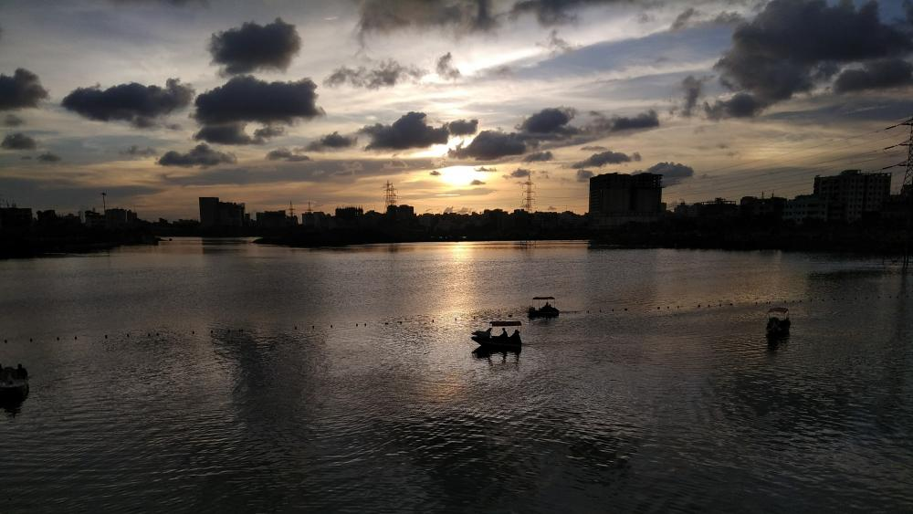 Hatir Jheel lake wallpaper