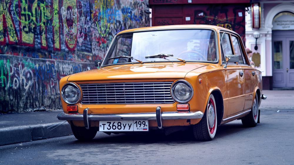 Lada - The Eastern European retro car wallpaper