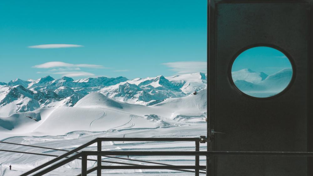 Ski Slopes wallpaper
