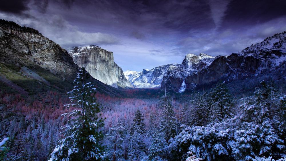 Yosemite, Tunnel View wallpaper