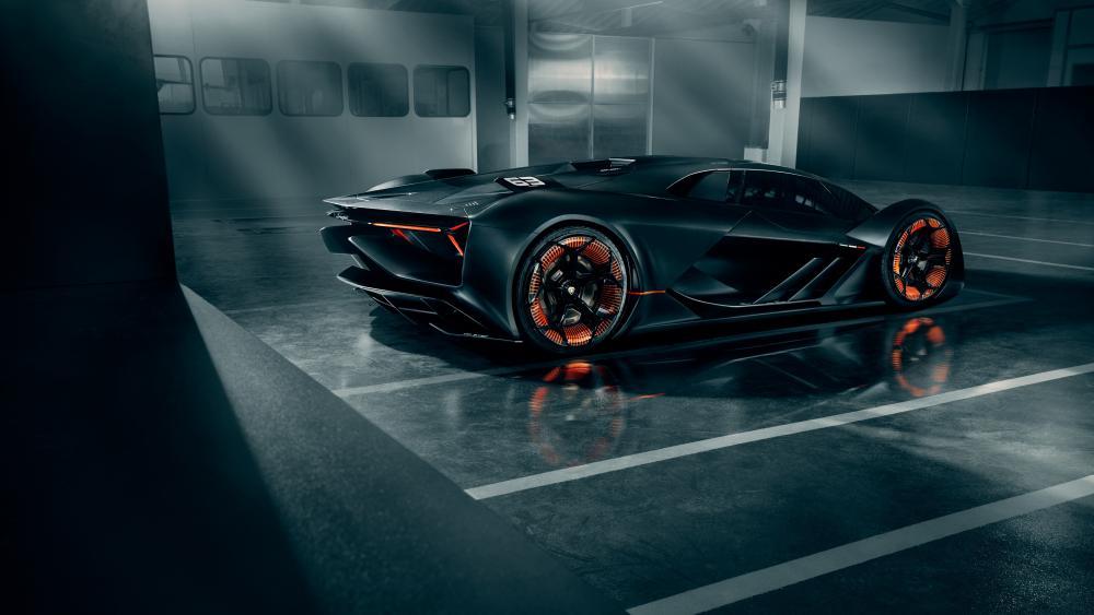 Lamborghini Terzo Millennio wallpaper