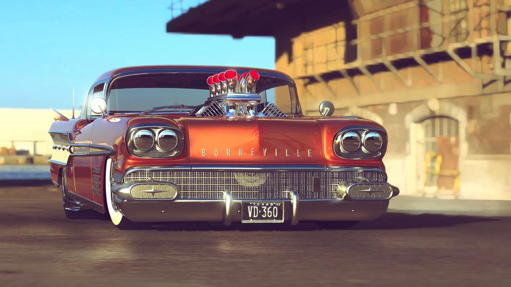 Pontiac Bonneville wallpaper