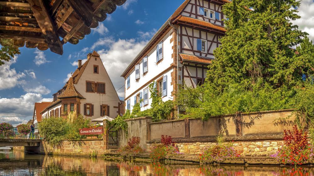 Weissenburg (Alsace, France) wallpaper