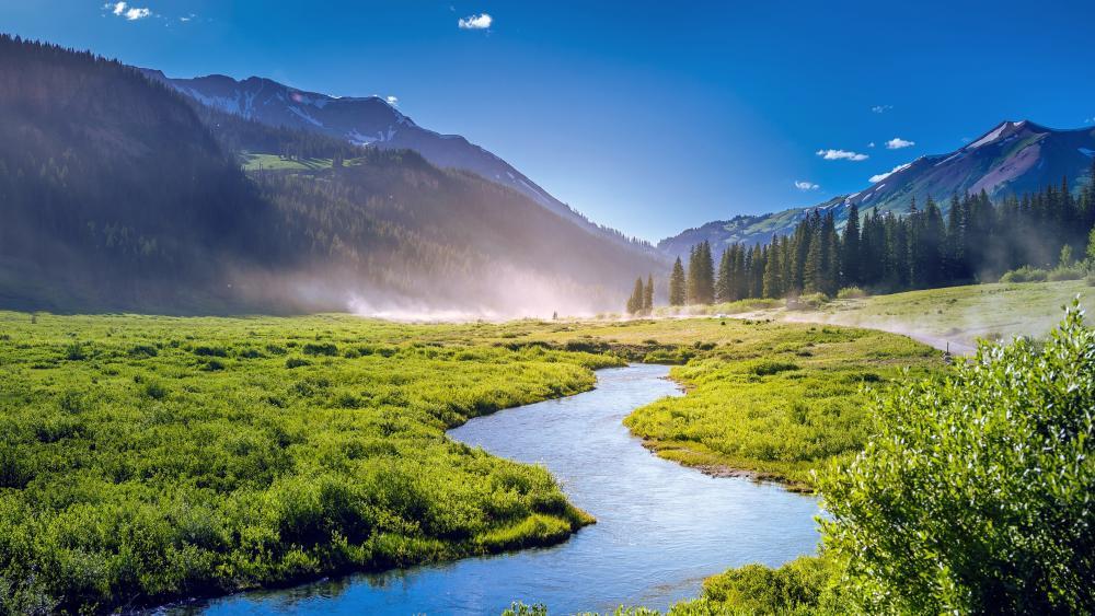 Colorado landscape wallpaper