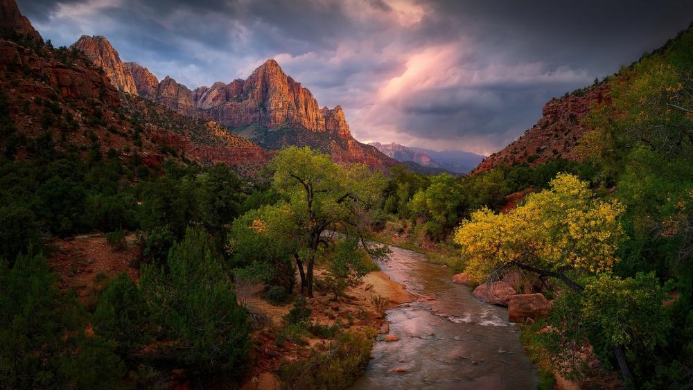 Zion National Park wallpaper