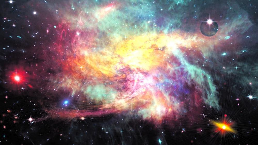 The Cosmos wallpaper