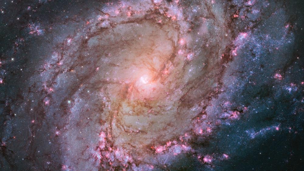 Spiral Galaxy M83 (Messier 83) wallpaper