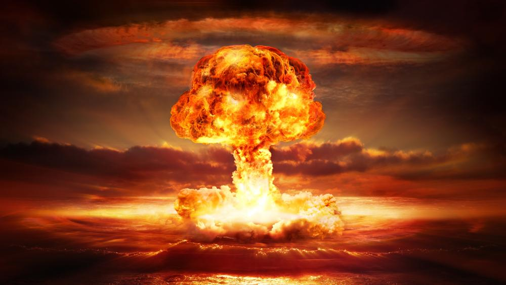 Apocalyptic explosion wallpaper