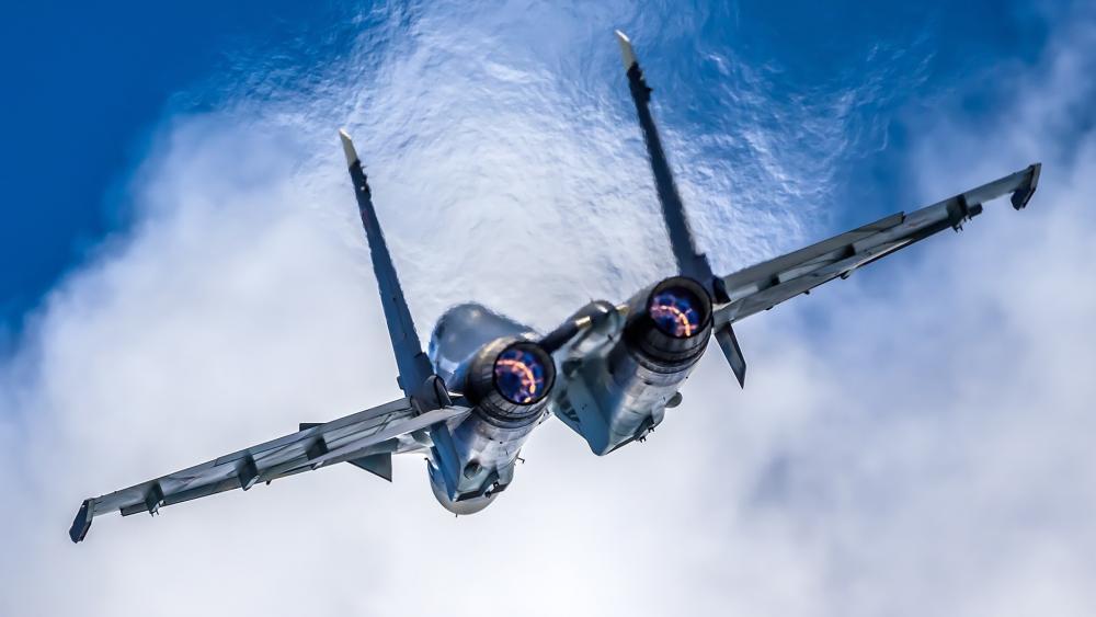 Sukhoi Su-30SM wallpaper
