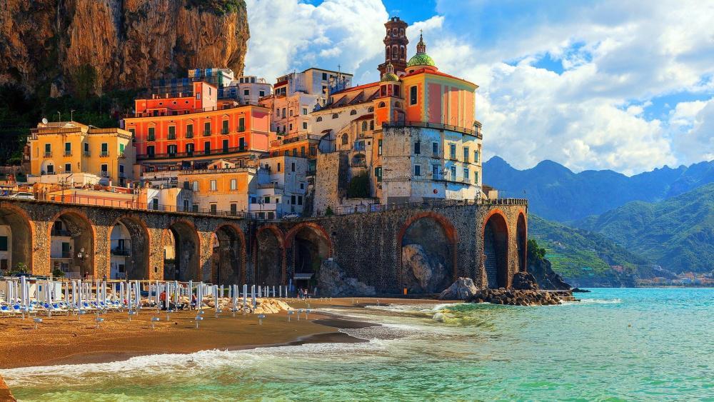 Amalfi coast (Italy) wallpaper