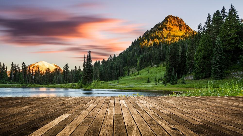 Tipsoo Lake (Mount Rainier National Park) wallpaper