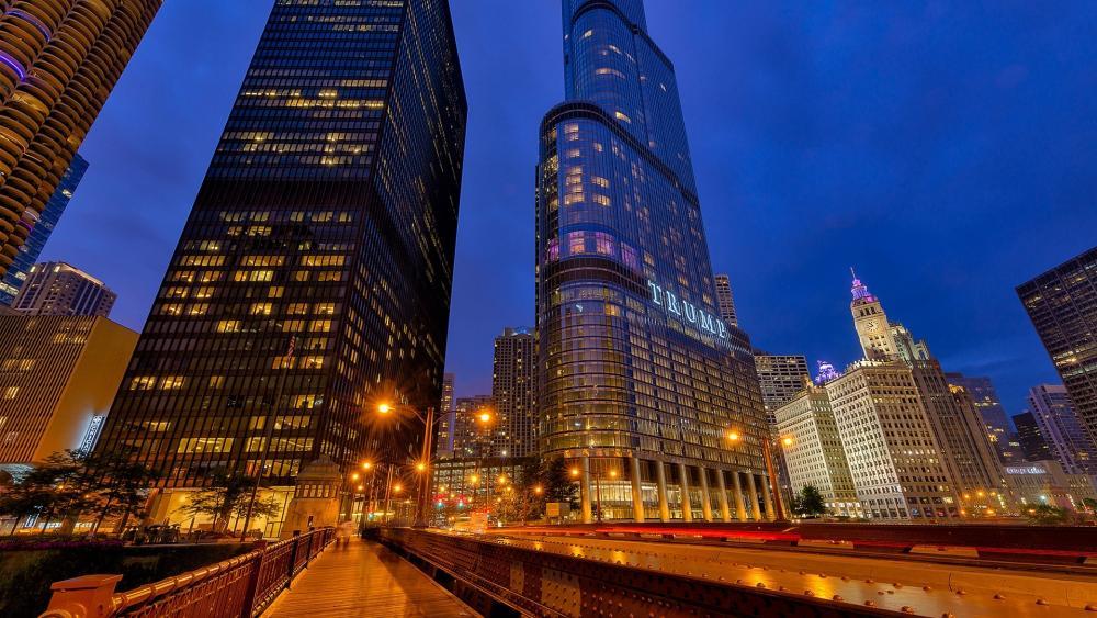 Trump International Hotel & Tower Chicago, Chicago wallpaper