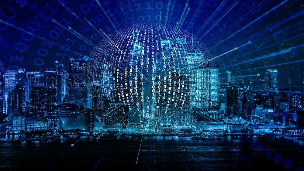 Data science wallpaper