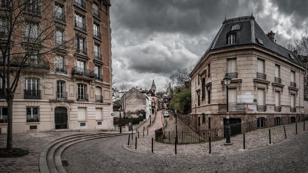 Place Dalida, Montmartre, Paris wallpaper