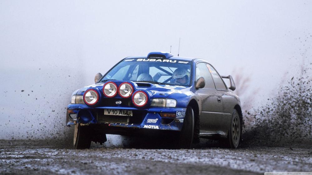 Subaru Impreza WRC wallpaper