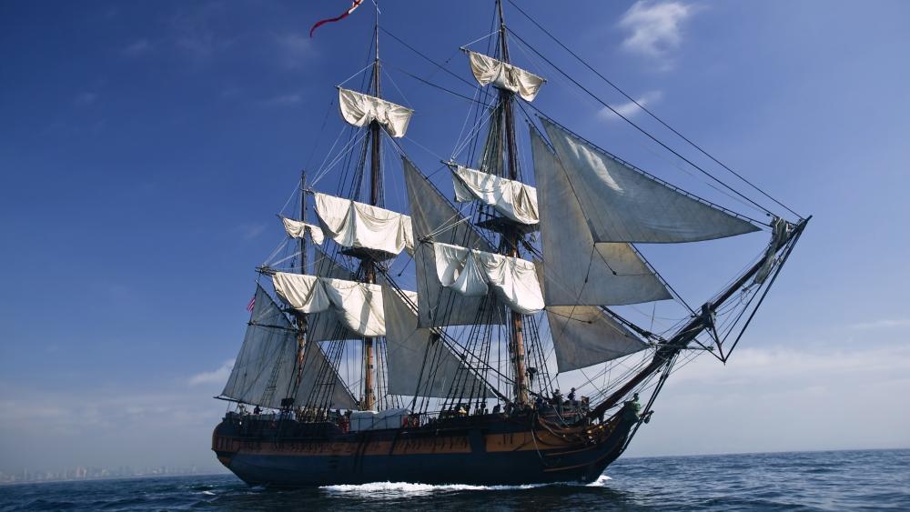 HMS Bounty wallpaper