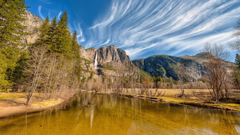 Yosemite National Park, Yosemite Falls wallpaper