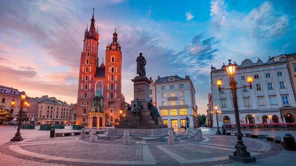 St. Mary's Basilica (Krakow) wallpaper