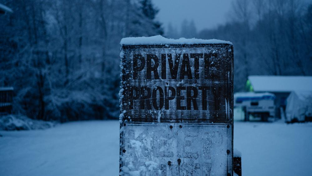Private Property wallpaper