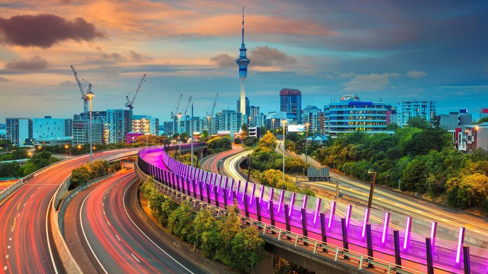 Auckland Long Exposure Photography wallpaper