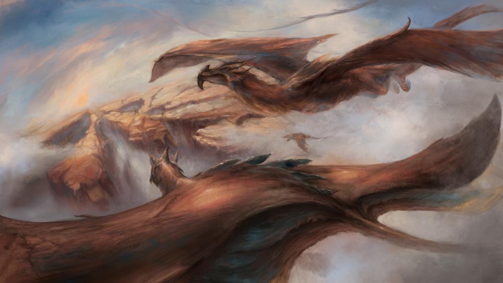 Dragon Painting wallpaper