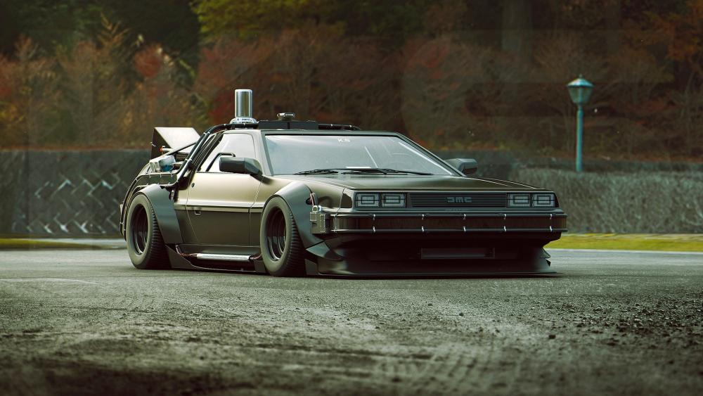 DMC DeLorean wallpaper