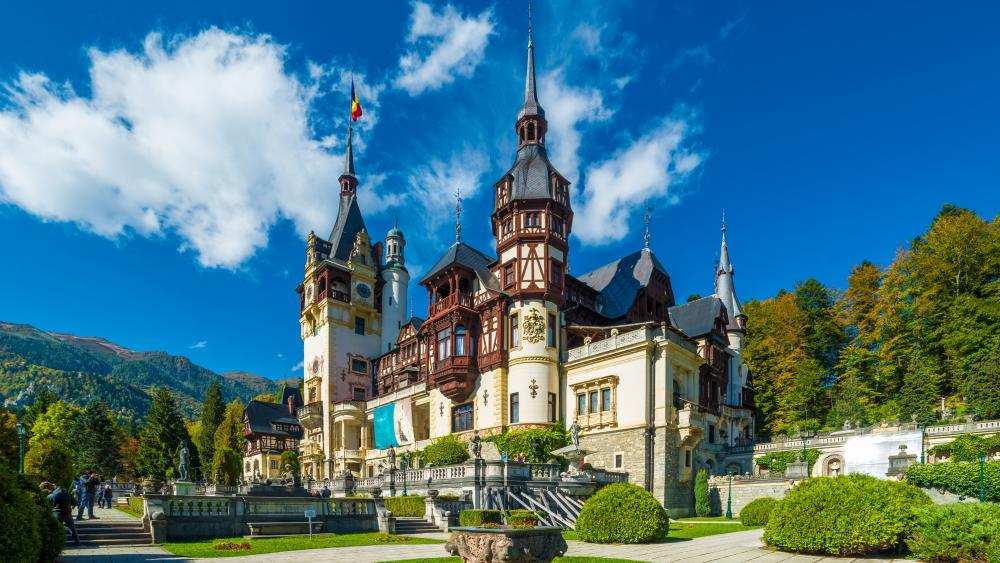 Peles Castle (Romania) wallpaper