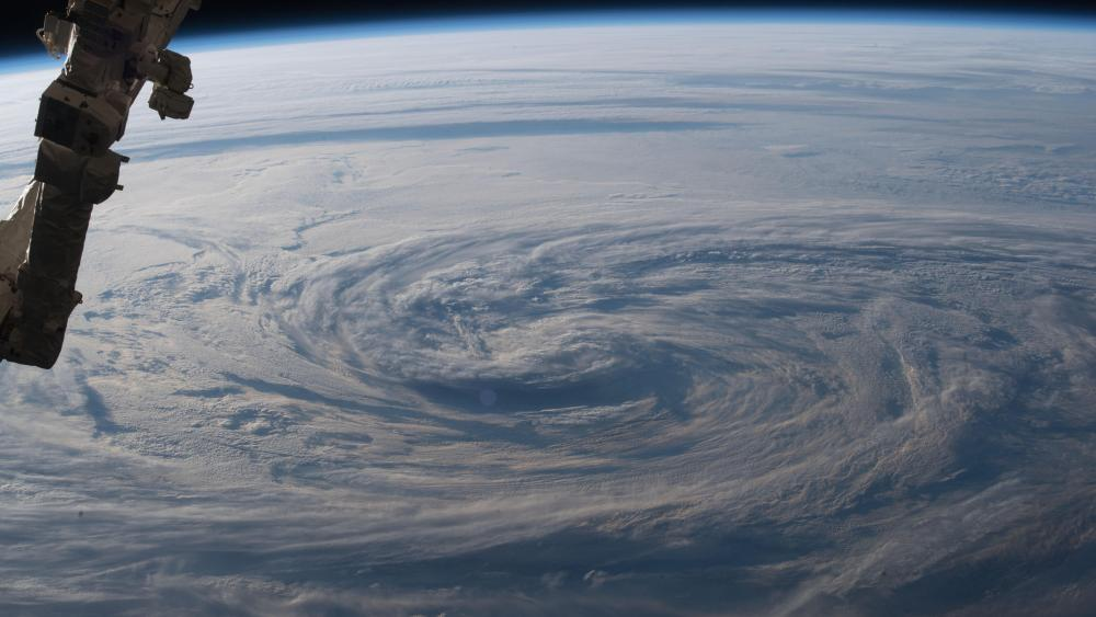 Storm Clouds in the North Pacific Ocean wallpaper