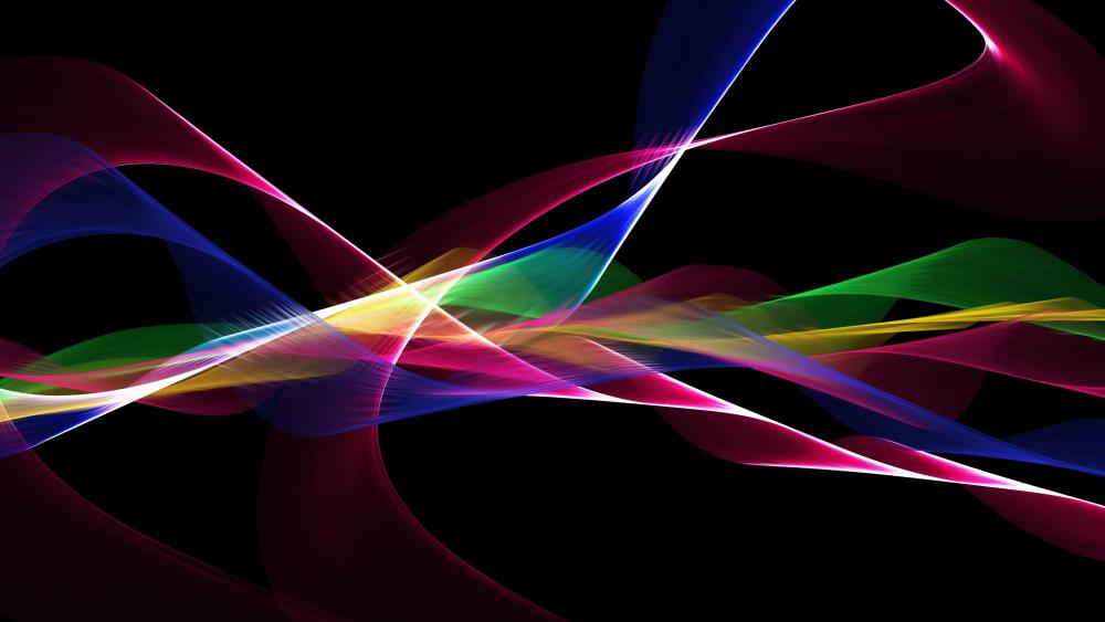 Colorful abstract graphics wallpaper