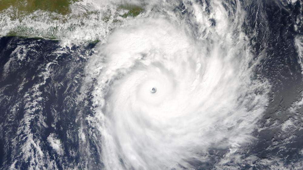 Tropical Cyclone Gafilo Approaching Madagascar wallpaper