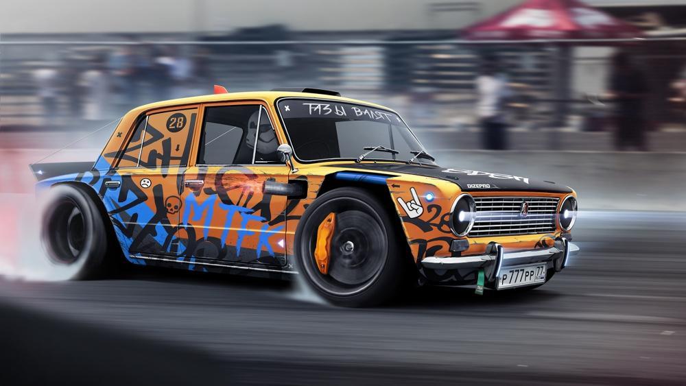 Lada racing wallpaper