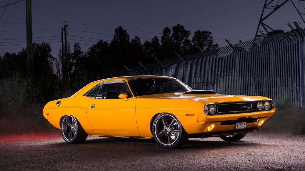 Dodge Challenger RT wallpaper