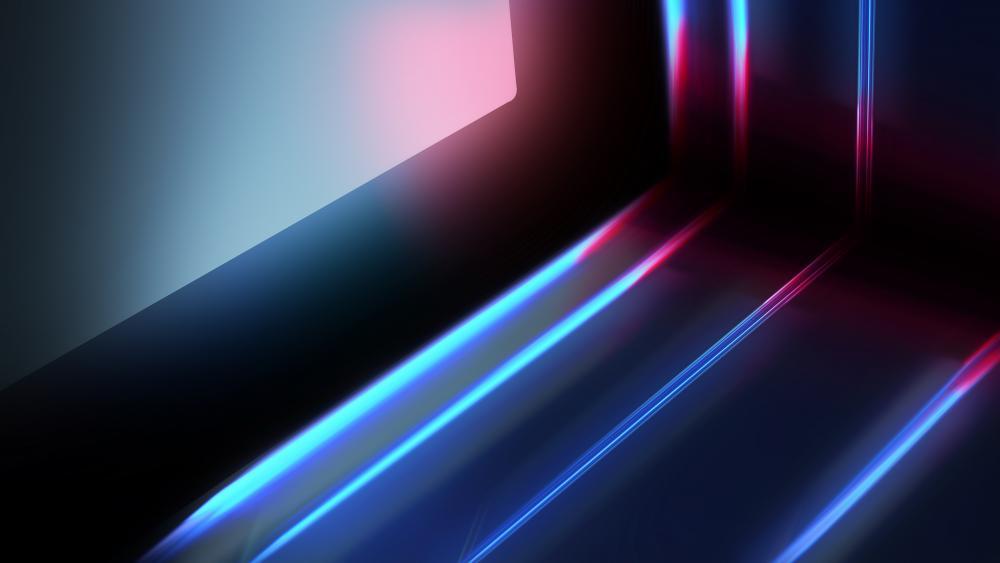 Digital abstract art wallpaper