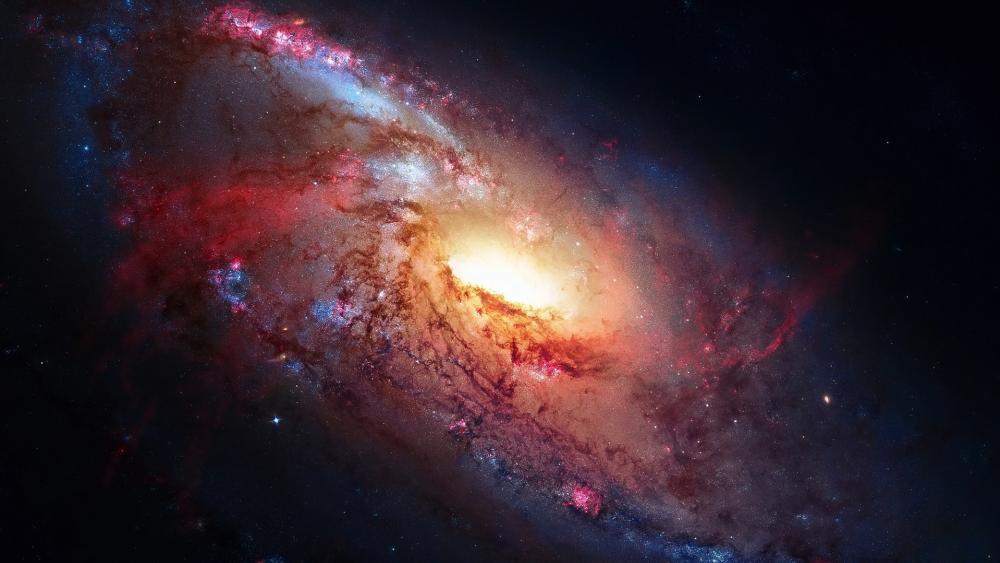 Galaxy system wallpaper