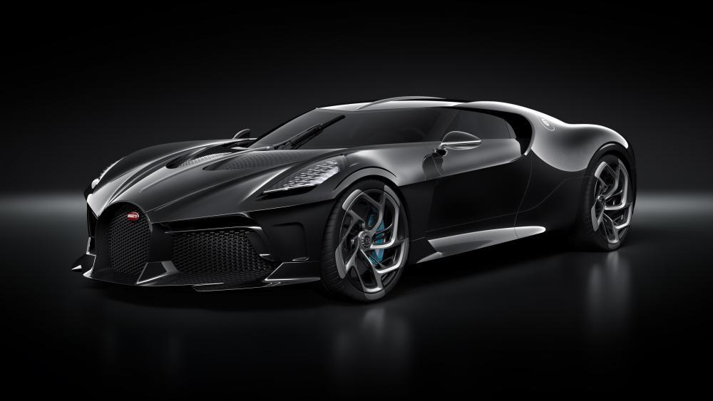 Bugatti La Voiture Noire wallpaper