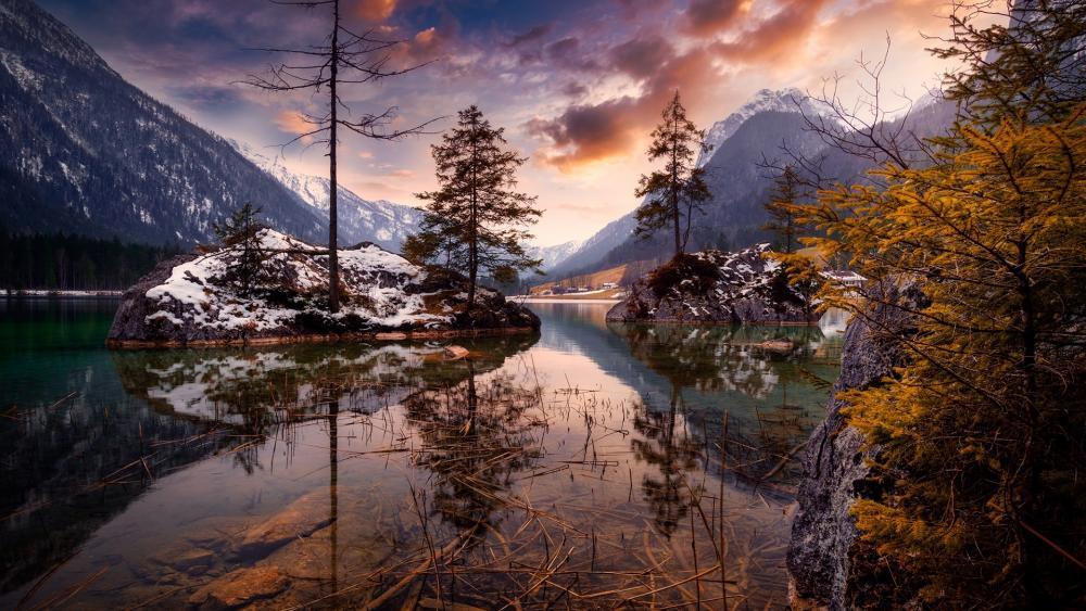 Hintersee (Berchtesgaden National Park) wallpaper