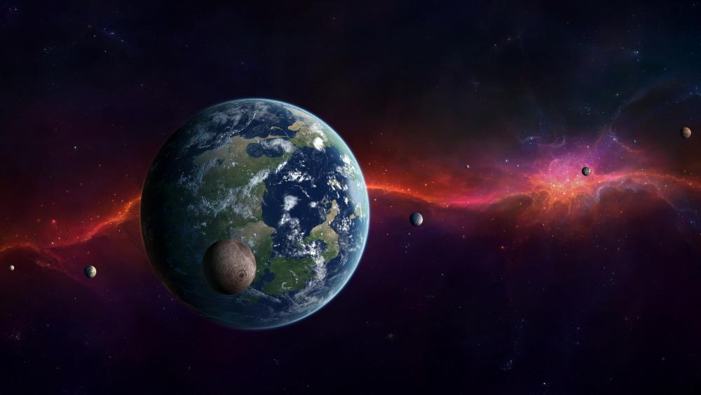 Planet Kepler-452b wallpaper