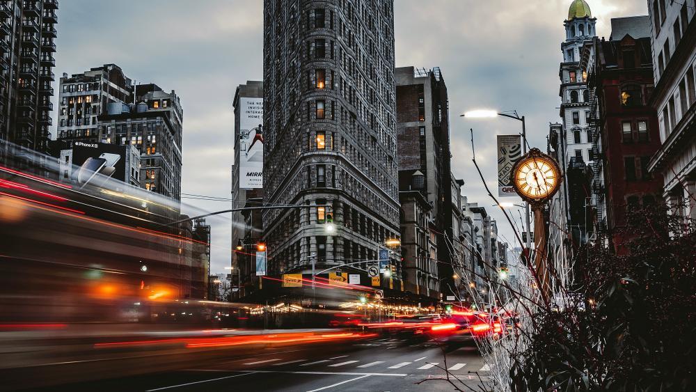 Flatiron Building wallpaper