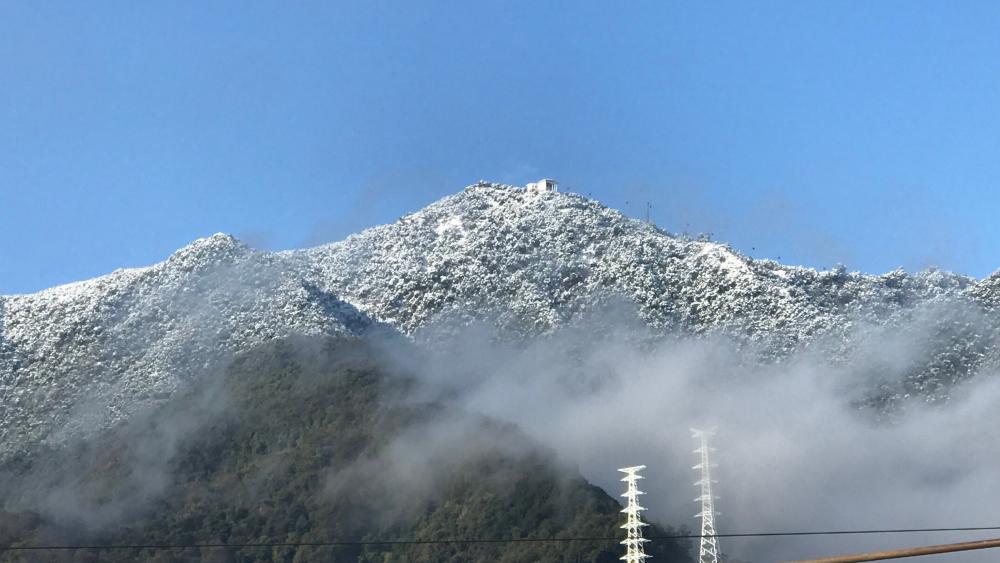 Chandragiri mountains wallpaper