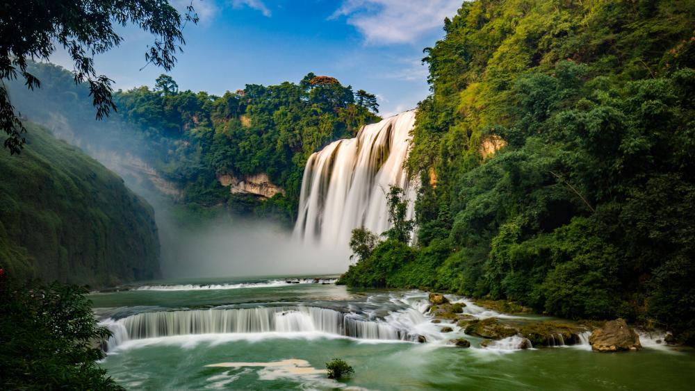 Huangguoshu Waterfall wallpaper