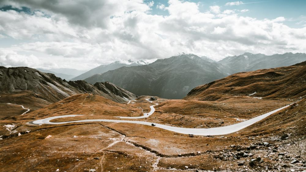 Grossglockner High Alpine Road (Austria) wallpaper