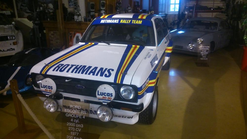 FORD ESCORT MK1 RS GROUPE 4 wallpaper