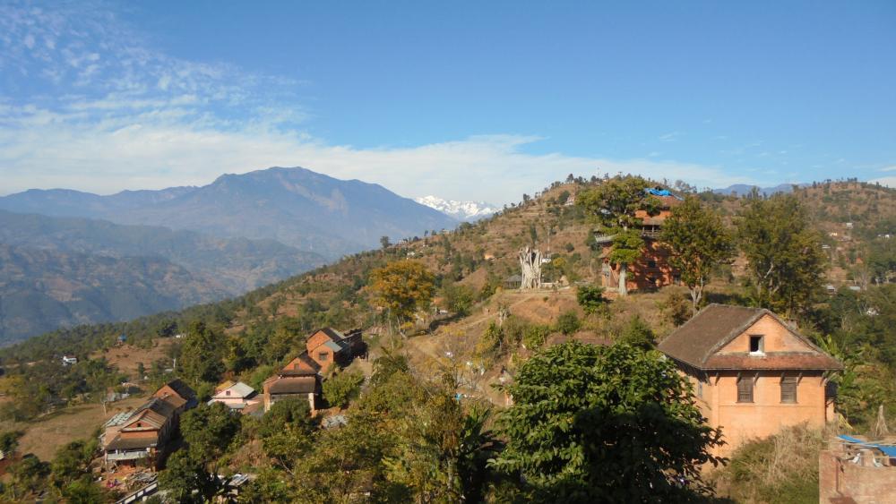 Nepal valley wallpaper
