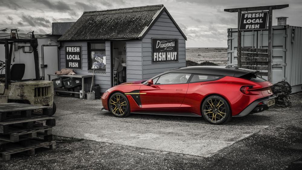 Aston Martin Vanquish Zagato Shooting Brake wallpaper