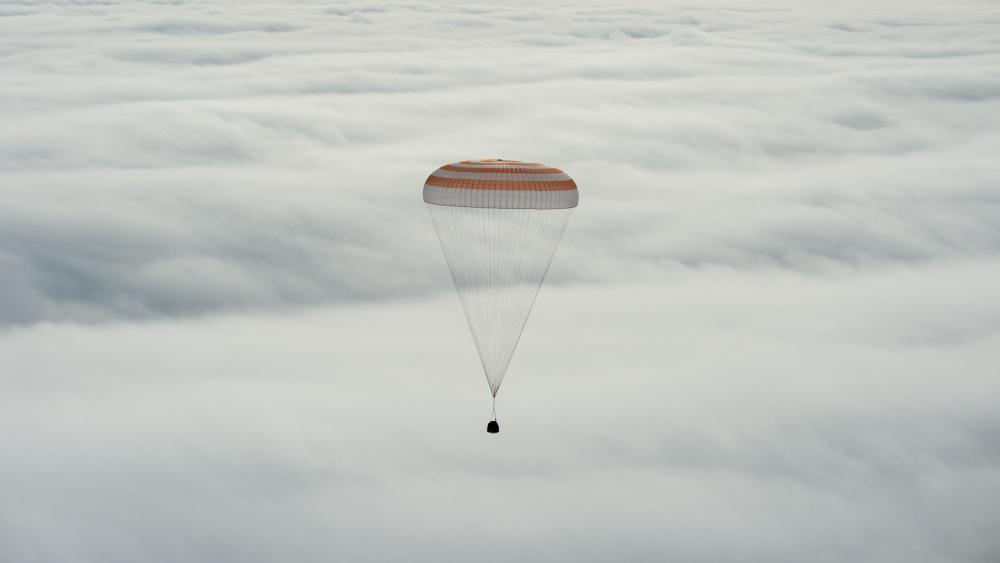 Expedition 46 Landing wallpaper