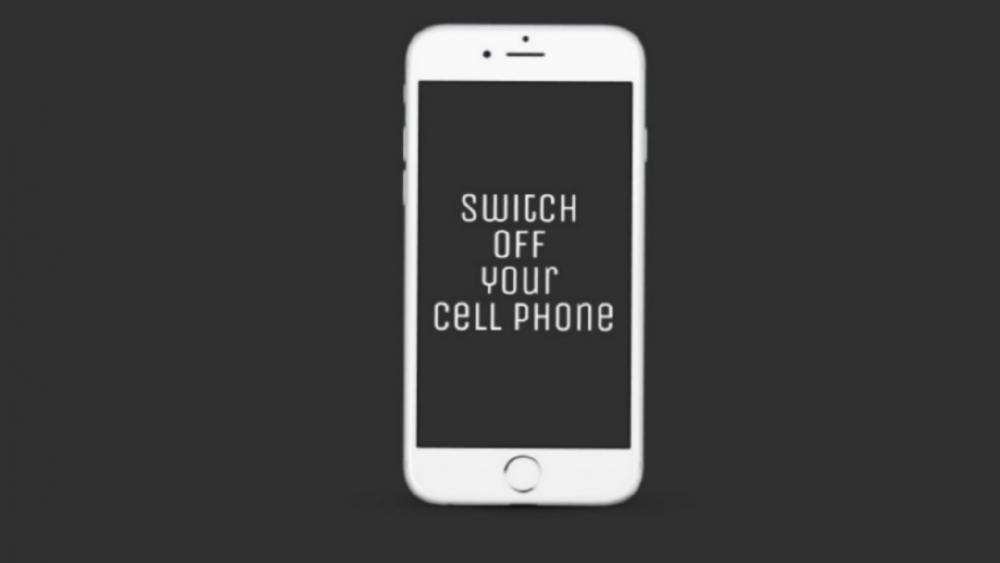 Switch off your cell phone wallpaper